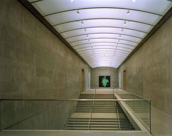 Interior, The Modern Art, Museum of Fort Worth, Fort Worth, Texas ...