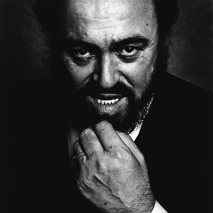 Luciano Pavarotti, The Savoy Hotel, London