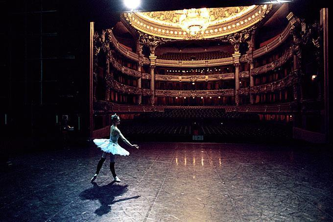 Lucie Mateci, ballet de l'Opera National de Paris
