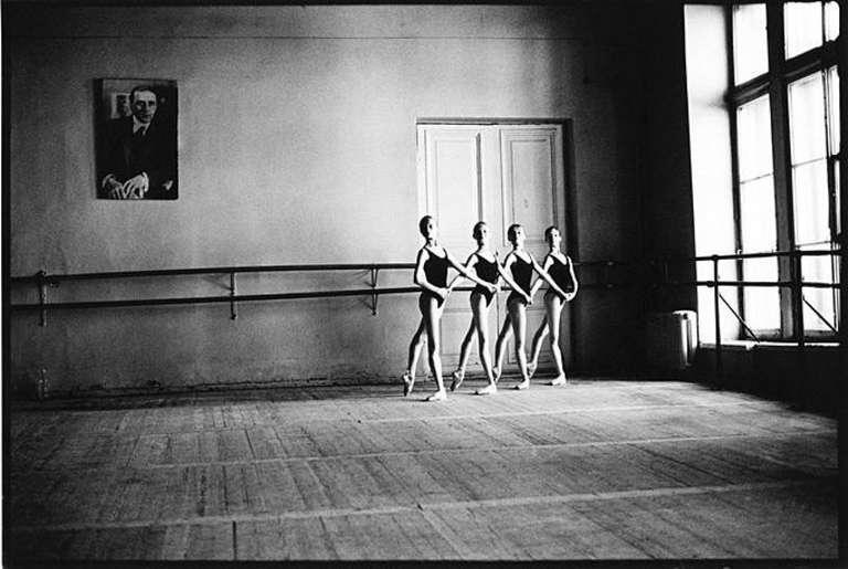 Vaganova School St. Petersburg, Four Dancers Holding Hands