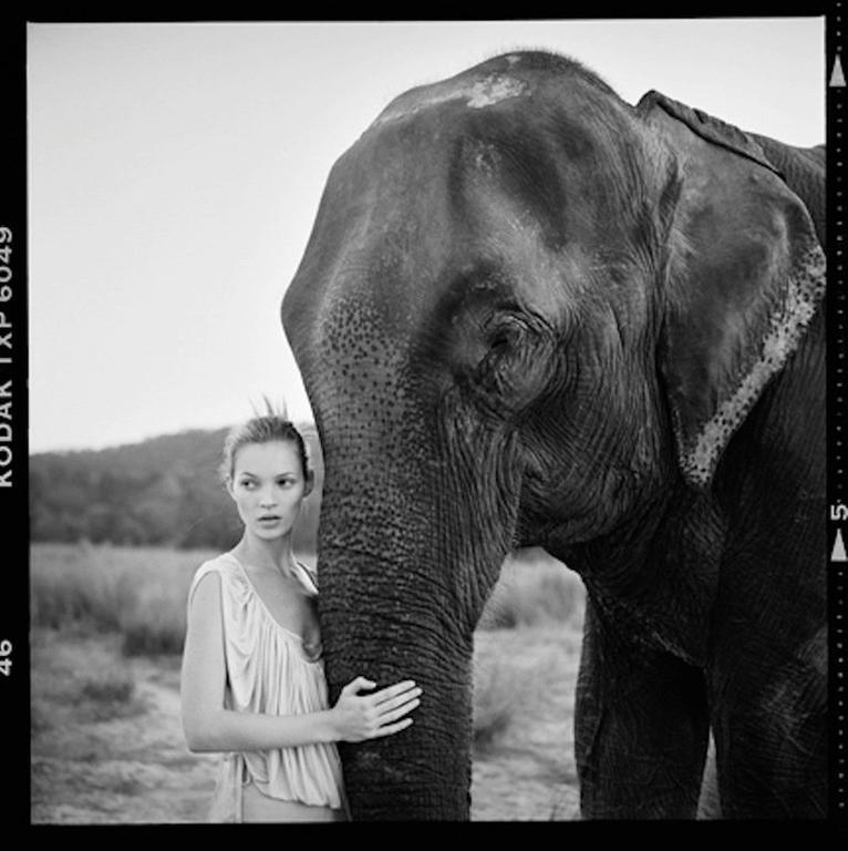 Kate Moss in Nepal II, British Vogue