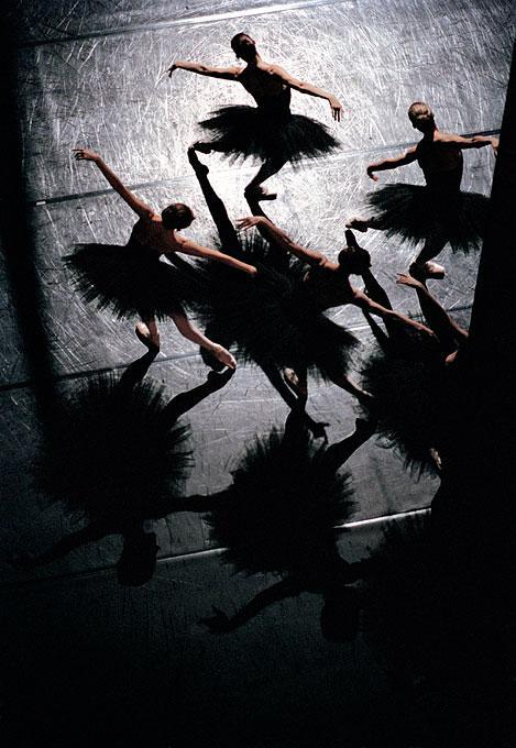 """""""Études"""" de Harald Lander, ballet de l'Opéra National de Paris"""
