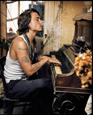 Johnny Depp, Paris