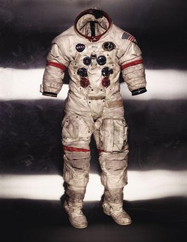 Alan Shepards Lunar Suit