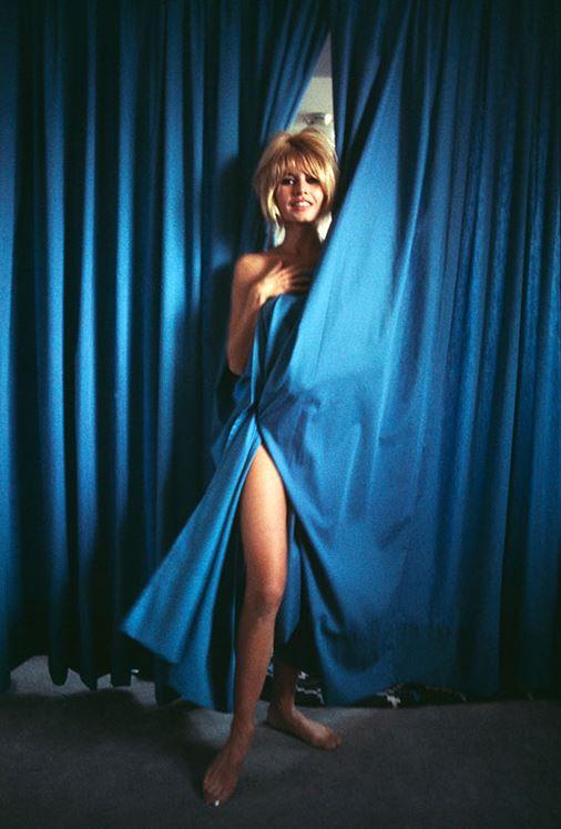 Brigitte Bardot on set of 'Viva Maria'