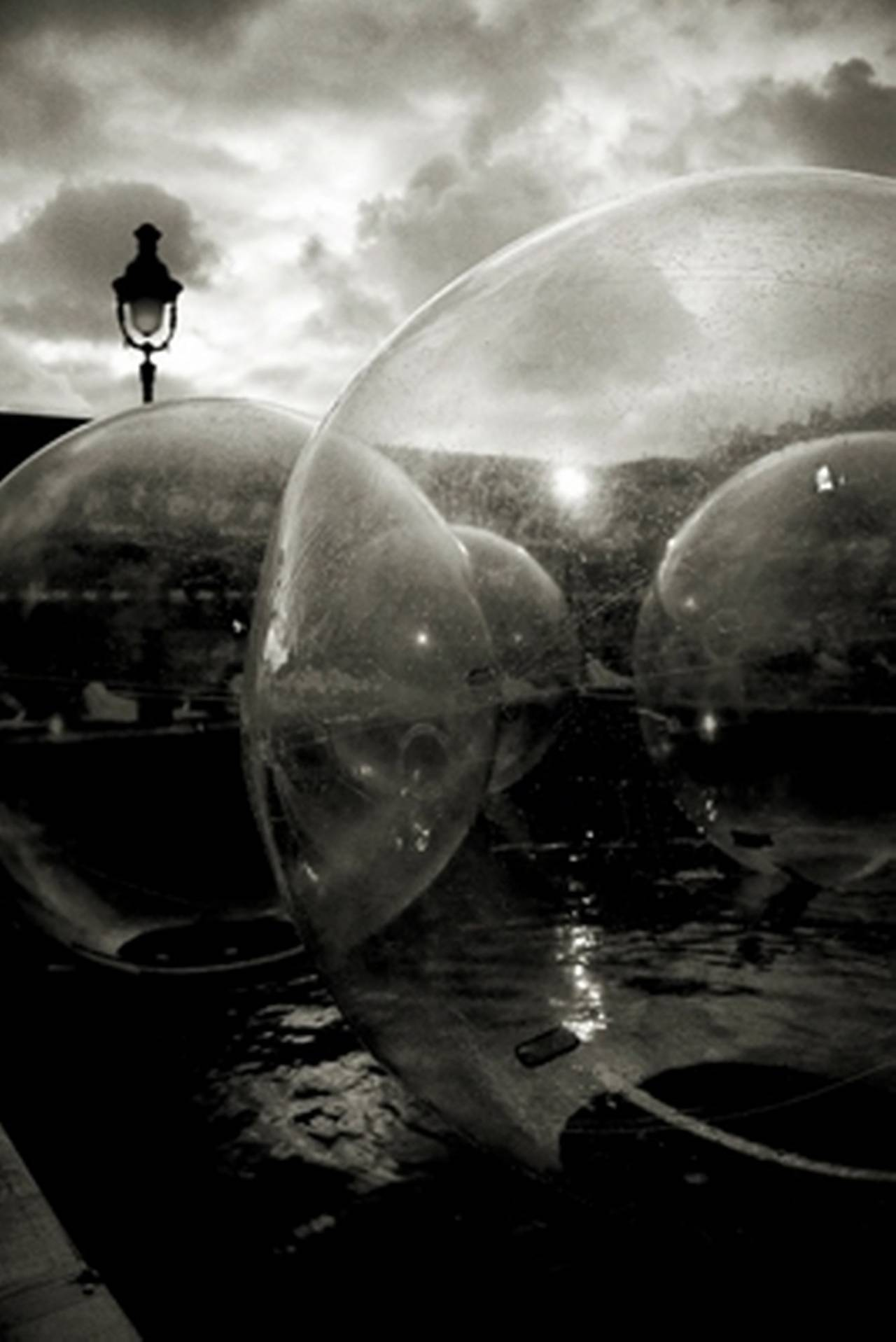 Bubbles, Paris