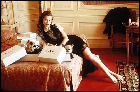 Kate Moss at Hotel Raphael Room 609, Paris