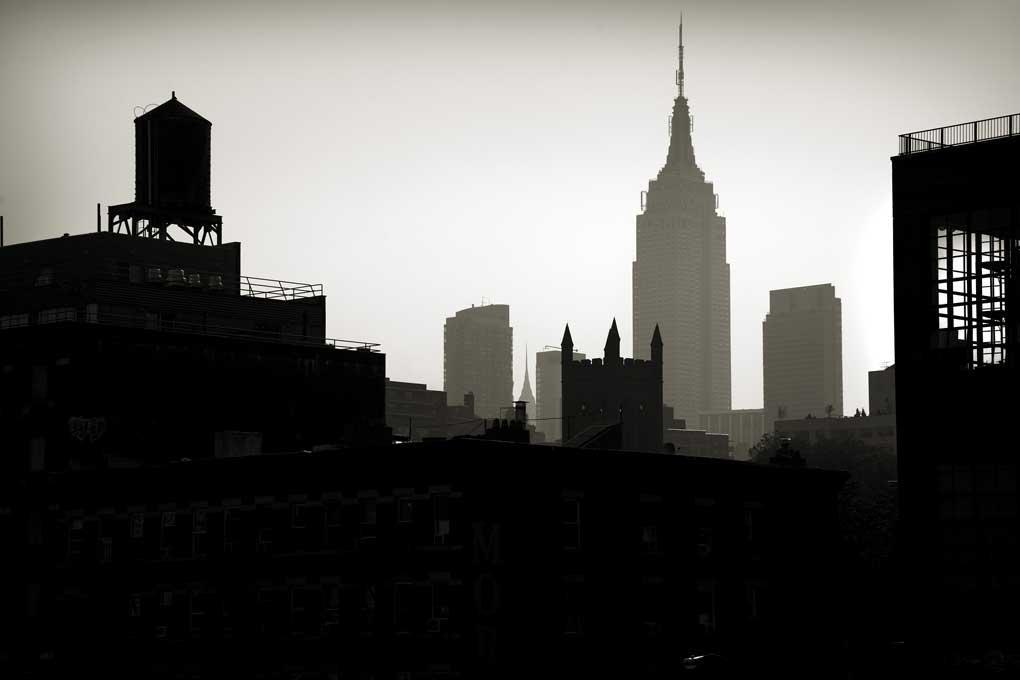 Cityscape with Empire State Building