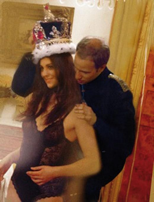 Will tries Crown on Kate