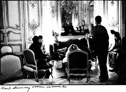 Karl Lagerfeld`s Salon
