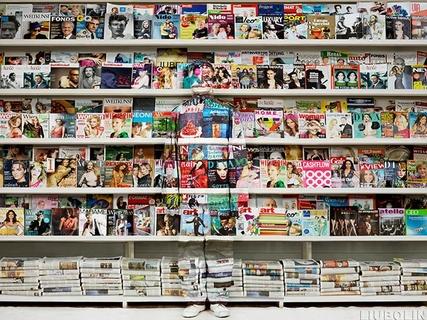 Austrian Magazine Rack