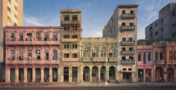 Facades, El Malecon, No. 1, Havana, Cuba