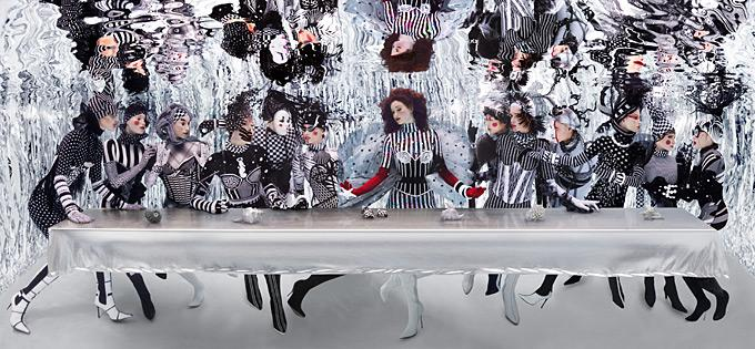 The Last Supper (underwater)