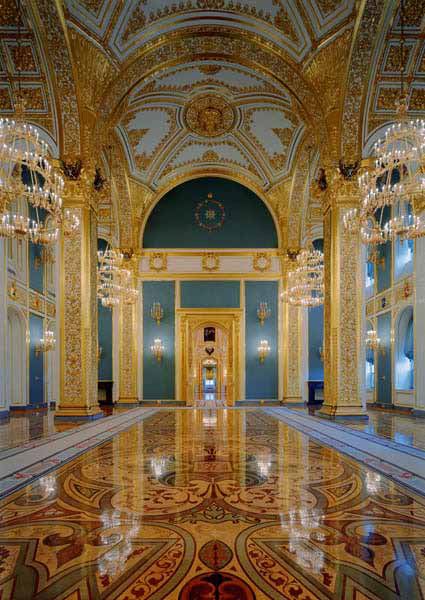 St. Andrew's Room, Kremlin, Moscow, Russia