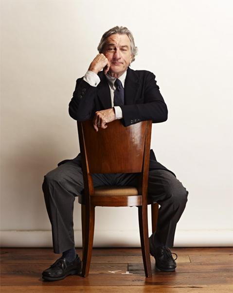 Rober De Niro On Chair