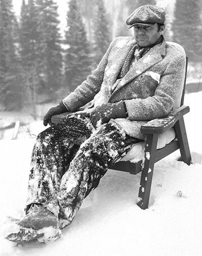 Jack Nicholson, Aspen, 1981