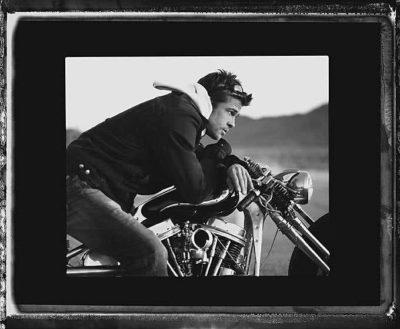 Brad Pitt, Motorcycle, 2005