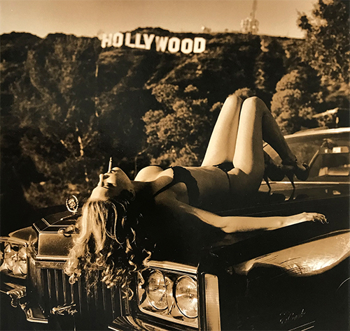 Smoking on a Cadillac, Hollywood, 1995