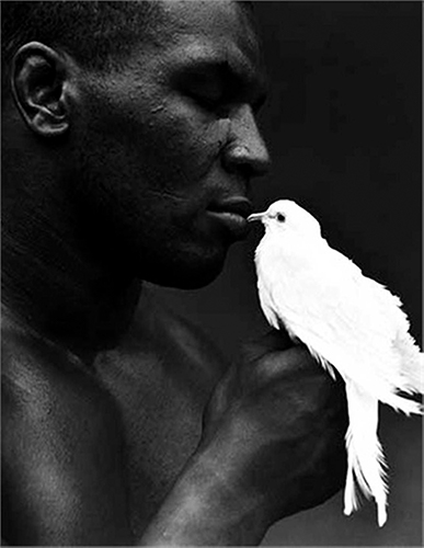 Mike Tyson with Dove