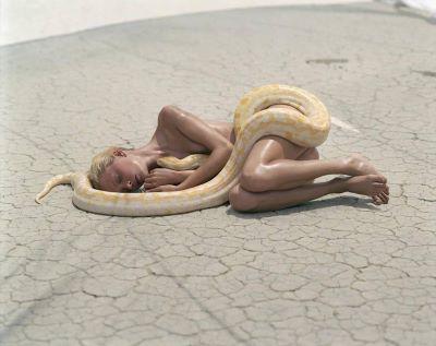 Beauty & Beast – Tatjana with Snake