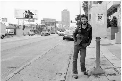 Bruce Springsteen on Sunset Stri