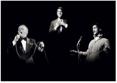 Rat- Pack- Frank Sinatran Dean Martin and Sammy Daviy