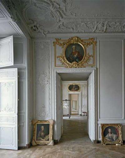 Appartements des enfants de Louis XV II Chateau de Versailles, 1986