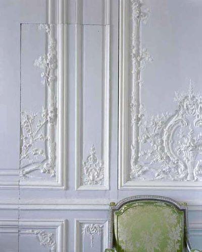 Boiserie detail by the Brothers Rousseau Château de Versailles, 2007