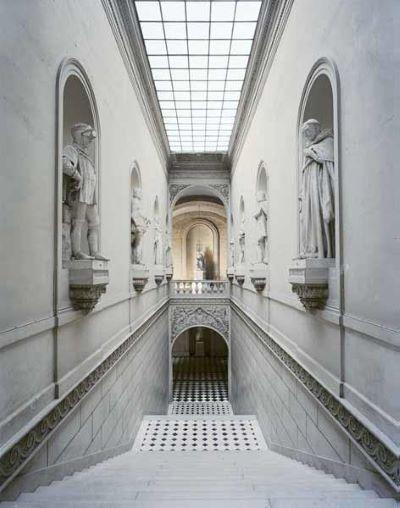Escalier de l'Aile du Nord Chateau de Versailles, 1985