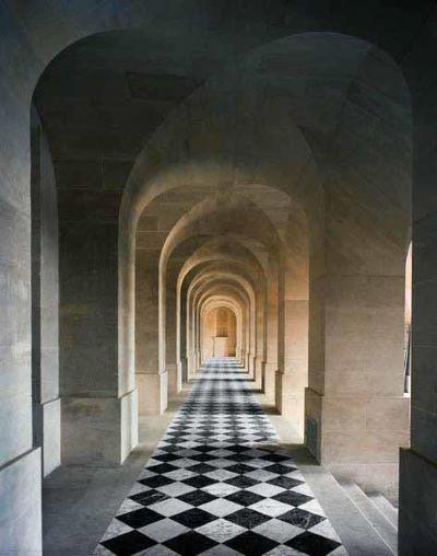 Galerie Basse Château de Versailles, 1983