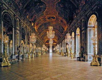 La Galerie des Glaces Chateau de Versailles, 1988