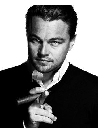 Leonardo DiCaprio Smoke Boss