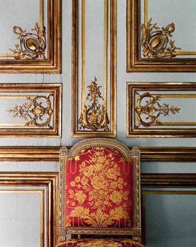 Salon des jeux de Louis XVI Château de Versailles, 2007