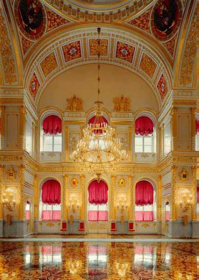 St Alexander's Room #2, Kremlin Moscow, Russia, 2005