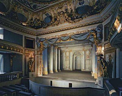 Theatre du Petit Trianon Chateau de Versailles, 1988