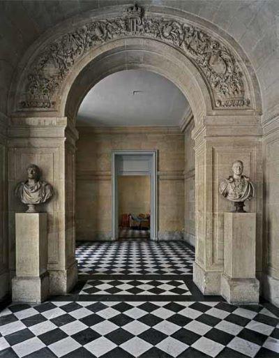 Vestibule de l'escalier Louis-Philippe Chateau de Versailles, 1985