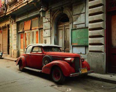 Vintage Car with Composite Parts