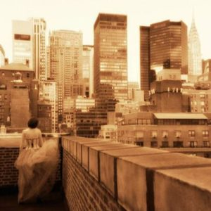 Guido Argentini - Andrea on a Manhattan Roof
