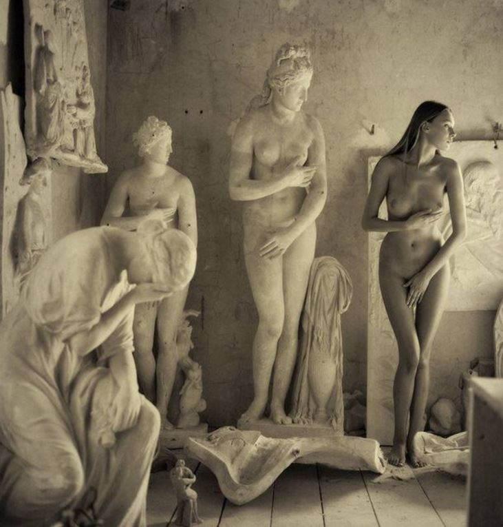 Sculptural Nude