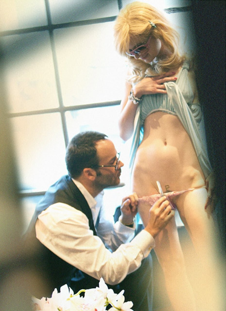 The real Tom Ford with Paris Hilton