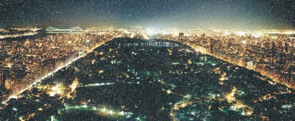 Central park diamond dust