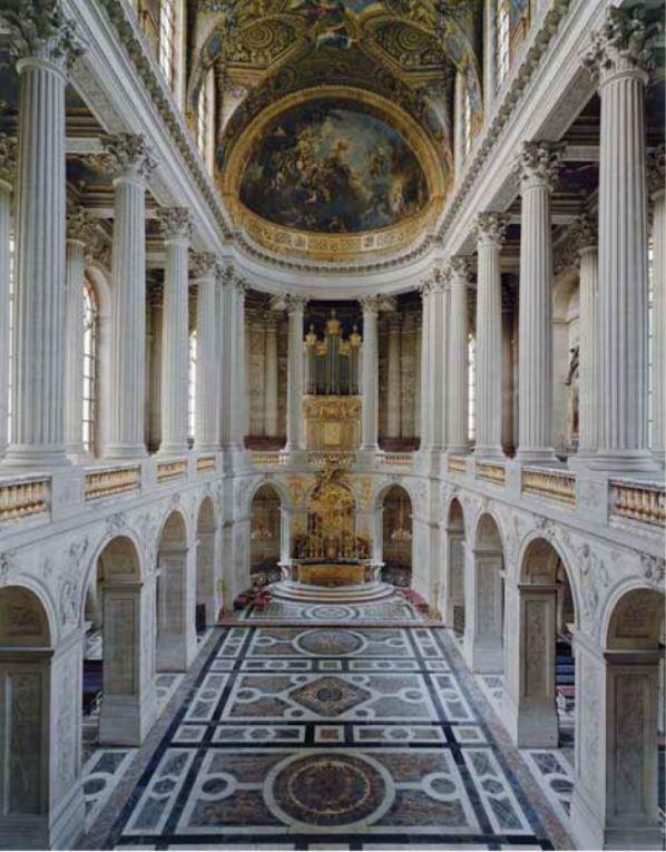 Chapelle Chateau de Versailles