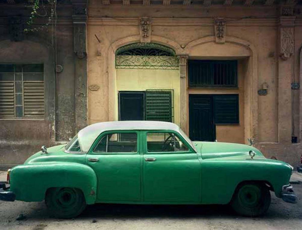 Green Car, Havana, Cuba