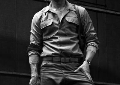 Timothy White - Brad Pitt, Fury