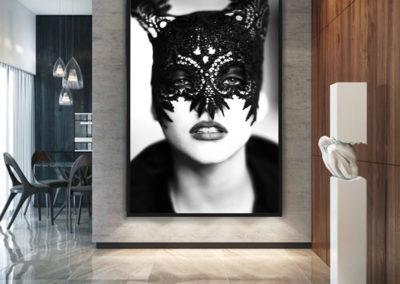 The Mask by Ellen von Unwerth